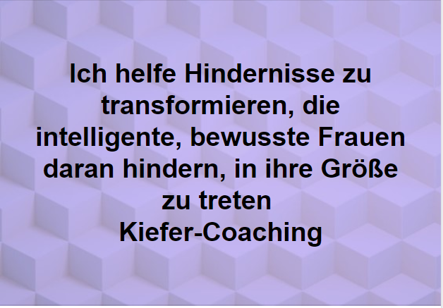Hindernisse transformieren